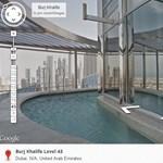 Fantasztikus látvány: nézzen körül a Street View-val a világ legmagasabb épületében, épületéből