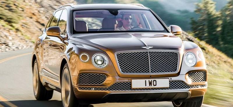 Itt az első arisztokrata telekjáró – 60 millió forint lesz a Bentley Bentayga