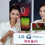 Hivatalosan is megerősítettek, hogy mikor jelenik meg az LG szupertabletje