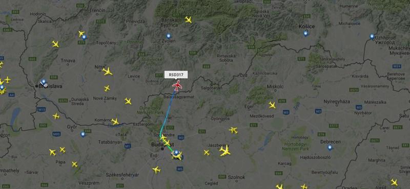 Viszlát, Vlagyimir! - Putyin gépe most hagyta el a magyar légteret