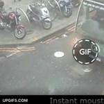 GIF: így csinálhat bajszos autót egy pillanat alatt