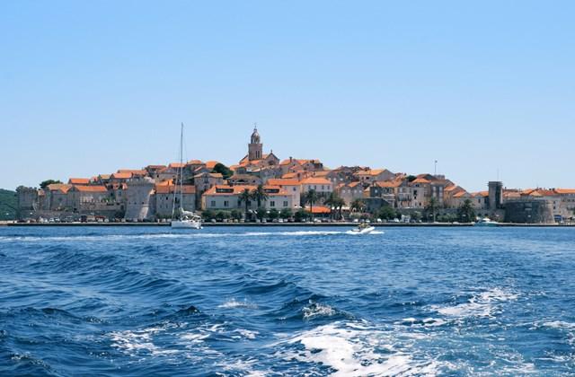 Horvátország tengerpart - Korcula