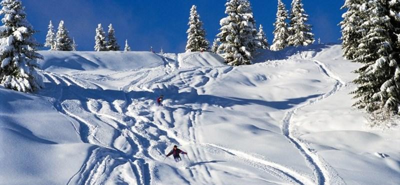 Svájcban is alig marad hely, ahol síelni lehet