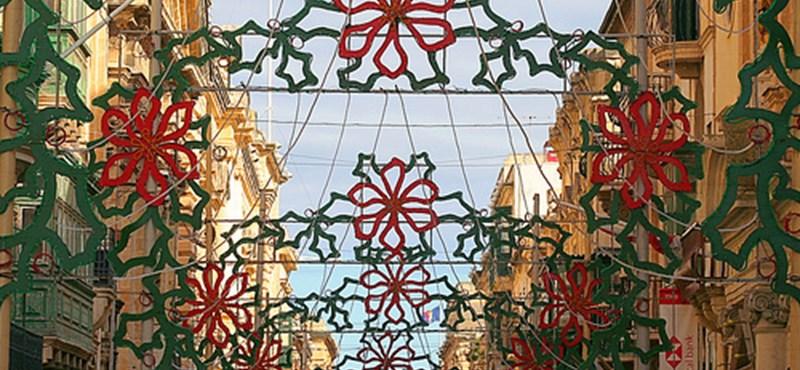 Egzotikus karácsony Máltán (videó)
