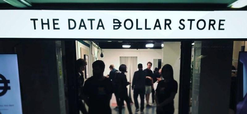 Érdekes kísérlet: nyitottak egy olyan boltot, ahol személyes adatokkal lehet fizetni