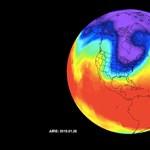 A NASA készített egy animációt: így tört be a -40 fokos hideg az USA területére