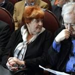 Szabó István filmrendező felesége kapta idén a művészfeleségeknek járó Krisztina-díjat