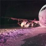 Letört az Air Canada utasszállítójának orra - friss fotók