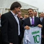 Fotó: Orbán hálás mosolyt küldött Illés Bélának