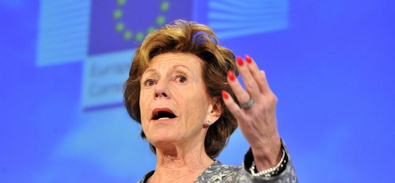 Neelie Kroes még mindig nem elégedett a magyarokkal