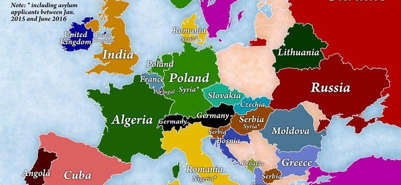 magyarország litvánia térkép Gazdaság: 4 térkép, ami önnek is újat mondhat a bevándorlásról  magyarország litvánia térkép