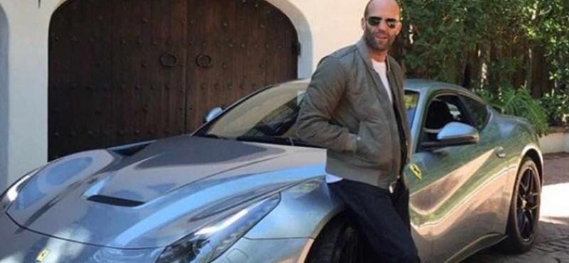 Jason Statham eladó Ferrarija tulajdonképp akciós