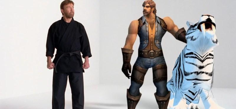Chuck Norris a World of Warcraftban [videó]
