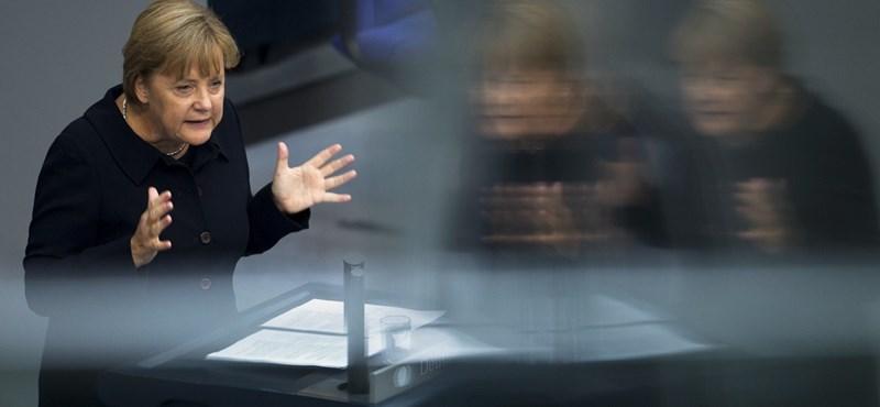 Angela Merkel megkönnyebbült