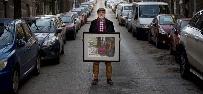 Bukta Imre festőművészt gyermekkorában zaklatta egy pap