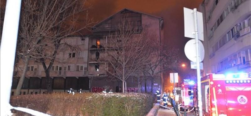 Tűz volt a fővárosi Ráday Kollégiumban, egy ember meghalt