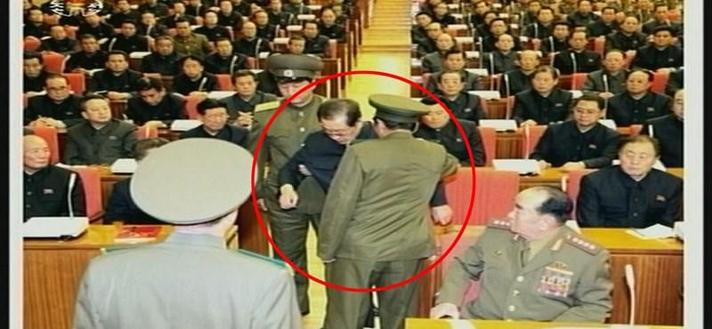 Észak-Korea: kivégezték Kim Dzsong Un nagybátyját