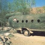 A nap fotója: itt a bizonyíték, hogy a tálibok is tudtak hibrid járművet készíteni