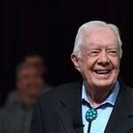Pulykavadászatra indulva törte el a csípőjét Jimmy Carter