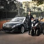 Djokovicot megvette a Peugeot