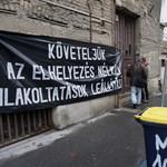 Pár hetes babával lakoltattak ki egy családot Budapesten