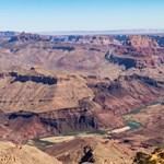A cipő is megolvad, olyan nagy a forróság a Grand Canyonban