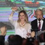 Békejobbot nyújt az új mexikói elnök Trumpnak