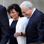 """""""Tudtam, hogy egy sármőrrel van dolgom"""" - megszólalt Dominiqe Strauss-Kahn exneje"""