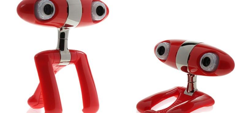 Egy kütyü londonból: A világ első 3D webkamerája