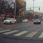 Nem mindennapi autós szabálysértést vettek videóra Debrecenben