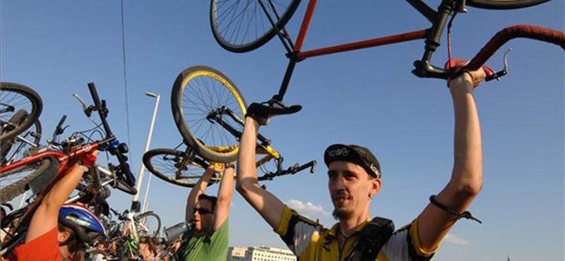 Gyalogos-kerékpáros híd Budapesten?