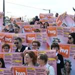 Reklámszövetség-elnök: a HVG-plakátok eltűnése nem rosszabb, mint hogy bezárt a mozi a Mammutban