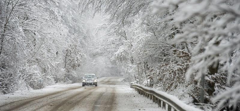 Hiába van március, hó és ónos eső jön a hétvégén is