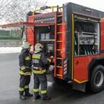 Kigyulladt egy busz Vas megyében