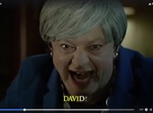 Gollam ismét Theresa May bőrébe bújt és Bohemian Rhapsodyt énekel
