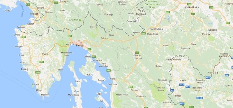 Földrengések okoztak pánikot a horvát tengerpartnál