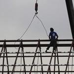 KSH: tovább zuhan az építőipar