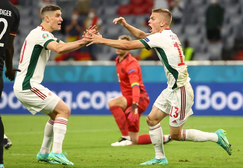 Németország – Magyarország 2-2