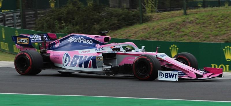 Még várni kell a koronavírusos Sergio Perez visszatérésére