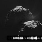 Furcsa kopogást rögzített az üstökösnél a Rosetta – hangfelvétel
