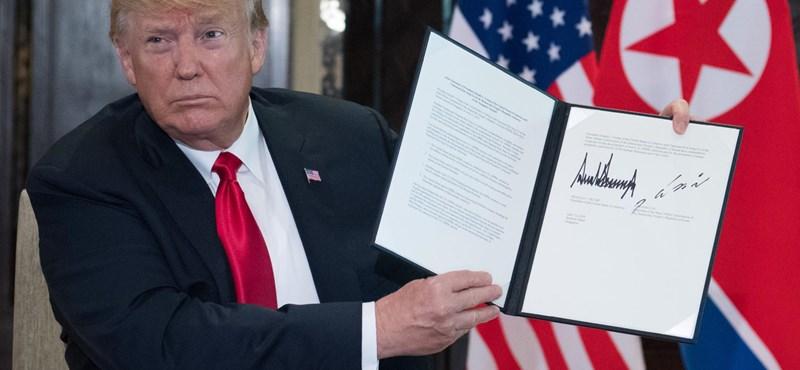 Rögtön be is fuccsol a Trump–Kim-megállapodás?
