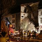 Óriási robbanás döntött romba három társasházat Antwerpenben