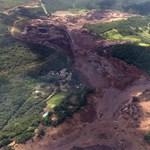 Átszakadt egy gát Brazíliában, egymillió köbméter iszap ömlött ki - videó