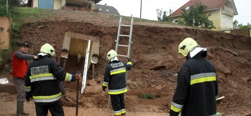 Megsérült egy gázvezeték Balatonalmádiban