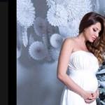 Horváth Éva fotóval jelentette be, hogy babát vár