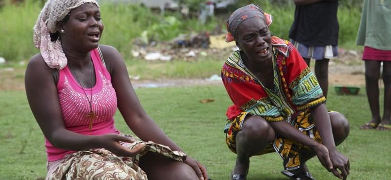 Ebola: Nem zavarják haza Afrikába a menekülteket