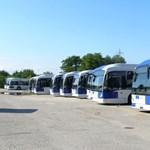 Fotó: Újabb gázos buszok érkeznek Budapestre
