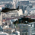 Bruce forgat: ismét harci helikopter repül el Budapest felett