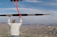 881,9 km/h-val repült a távirányítós repülő, pedig hajtómű sem volt rajta