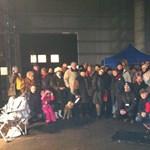 Így karácsonyoztak az éhségsztrájkoló tévések